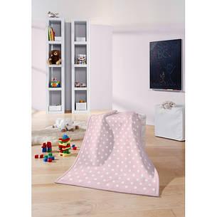 Biederlack Детский плед Lovely&Sweet Dots rose 75*100см, фото 2