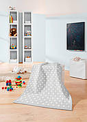 Biederlack Детский плед Lovely&Sweet Dots silver 75*100см
