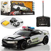Машина Полиция CHEVROLET CAMARO 320-6, р/у, аккумуляторная, 25 см, Цвет Черный