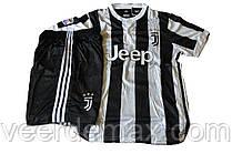 Футбольная форма Ювентус (FC Juventus) 2017-2018 домашняя