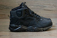 Зимние мужские кроссовки Nike Air Huarache Winter Black