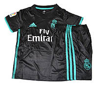 Футбольная форма Реал Мадрид выездная 2017/18 (черная)