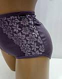 Трусики женские 5180 х/б кружевной бок AONIDAISI, фото 2