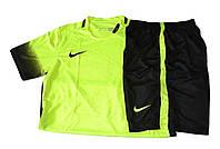 Футбольная форма игровая  Nike (салатовая)