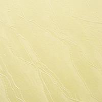 Рулонные шторы Woda. Тканевые ролеты Вода (Дюна) Желтый 2072, 75 см