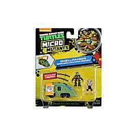 Игровой набор серии ЧЕРЕПАШКИ-НИНДЗЯ MICRO – Леонардо и Шреддер в фургоне