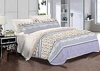 Двуспальный комплект постельного белья евро 200*220 хлопок  (8451) TM KRISPOL Украина