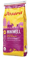 Josera Miniwell 4,5 кг - корм для взрослых собак мелких пород