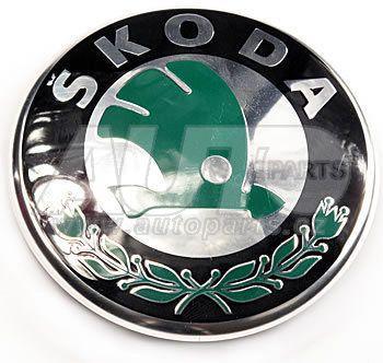 Эмблема на капот и на багажник ( d=80 mm) Skoda FAB,OCT tour, ROOM, FEL C 98-