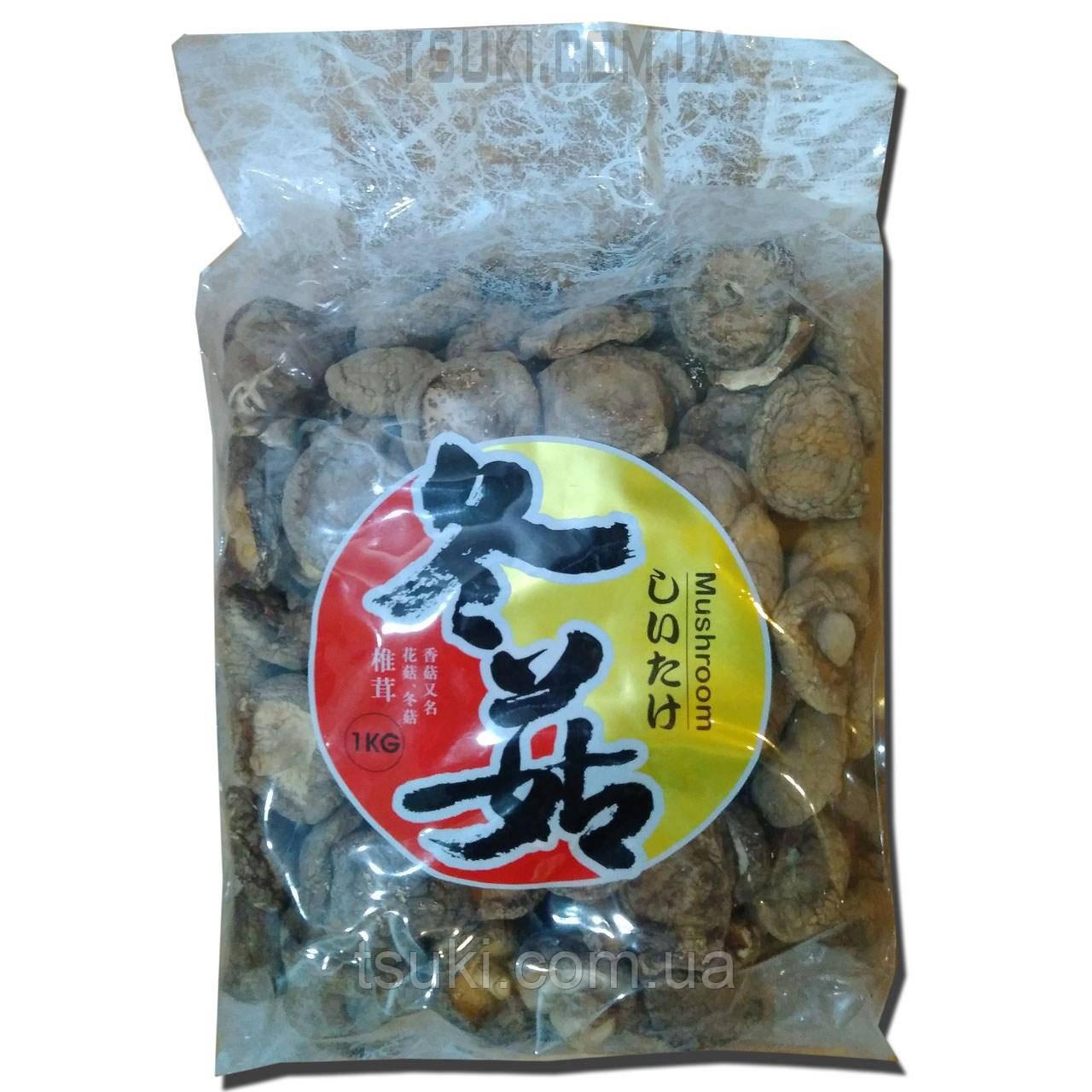 Сушеные грибы Шитаке 1кг.