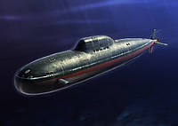 1:350 Сборная модель подводной лодки проекта 705 'Лира' ('Alfa'), Hobby Boss 83528