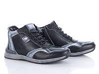 Ботинки мужские зимние черного цвета HOLOSO