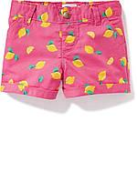 Детские летние розовые шорты Old Navy для девочки