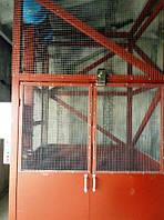 Самонесущий подъёмник шахтно-клетьевого типа г/п 1000 кг, 1 тонна.