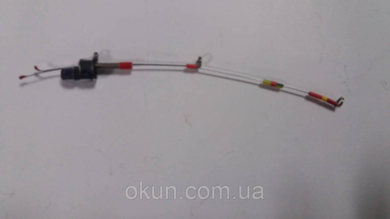 Кивок  металический двойной для зимней рыбалки средний