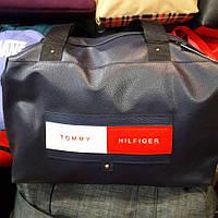 Cумка Tommy Hilfiger 115140 спортивная из кожзаменителя ручки ремешком 40 см х 30 см х 20 см Темно-синий