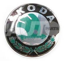 Эмблема передняя-задняя d=90mm Skoda SuperB 2008-2013