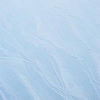Рулонные шторы Woda. Тканевые ролеты Вода (Дюна) Голубой 1840, 105 см