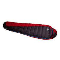Пуховый спальный мешок Sir Joseph Erratic plus II 850/190/-12°C Red/Blue (Right)