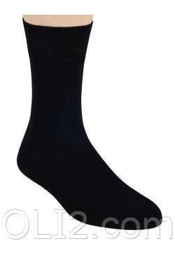 Мужские носки черные  Steven демисезонные