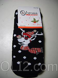 Женские теплые новогодние носки BROSS