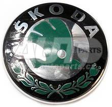 Эмблема на капот  d=88 мм Skoda FAB-II, OCT A5, ROOM, SUPB-I, YET  -13