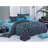 Комплект постельного белья евро Вилюта ранфорс 9844