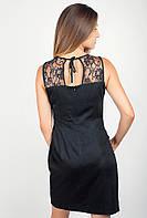 Платье женское коктейльное черное №206F002 (Черный)
