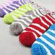 Женские махровые носки в подарочной упаковке сердце, фото 5