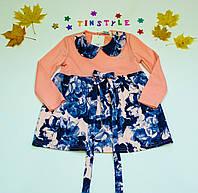 Красивое платье  для девочки рост 92-116 см