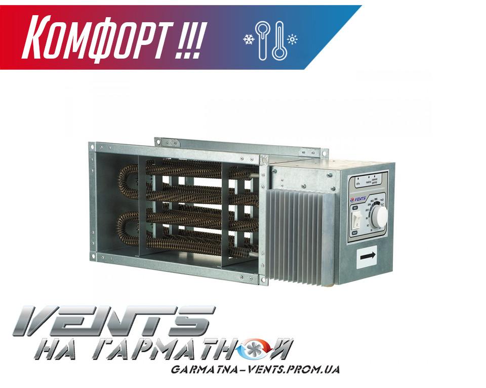 Вентс НК 600х350-15,0-3 У. Канальный нагреватель с блоком управления