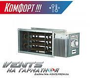 Вентс НК 600х300-12,0-3 У. Канальный нагреватель с блоком управления