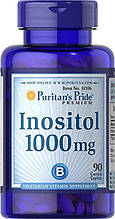 Витамин В8 Инозитол 1000 мг при планировании беременности Puritan's Pride Inositol 1000 mg 90 Caplets