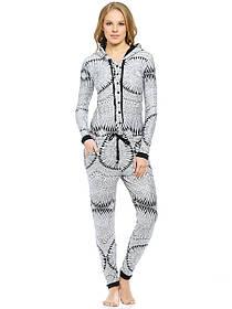 КОМБИНЕЗОН PENYE MOOD 7850,  пижама теплая зимняя, модная 2017