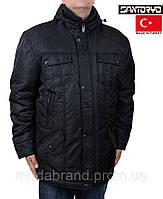 Куртка мужская зимняя большого размера Santoryo-4857 черная