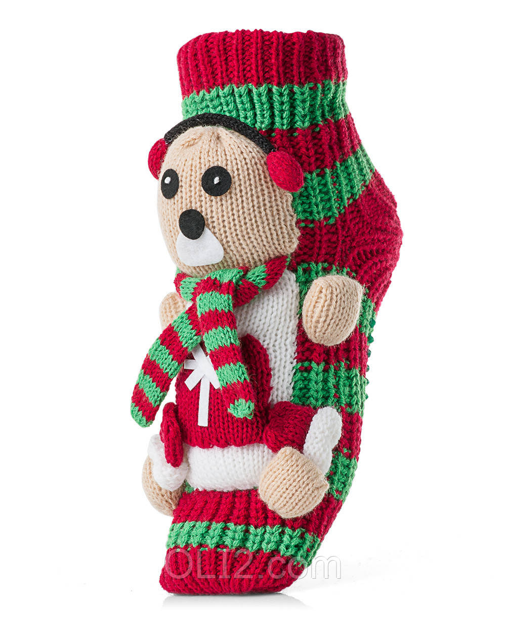 Женские детские носки ATTRACTIVE  3 D игрушка мишка
