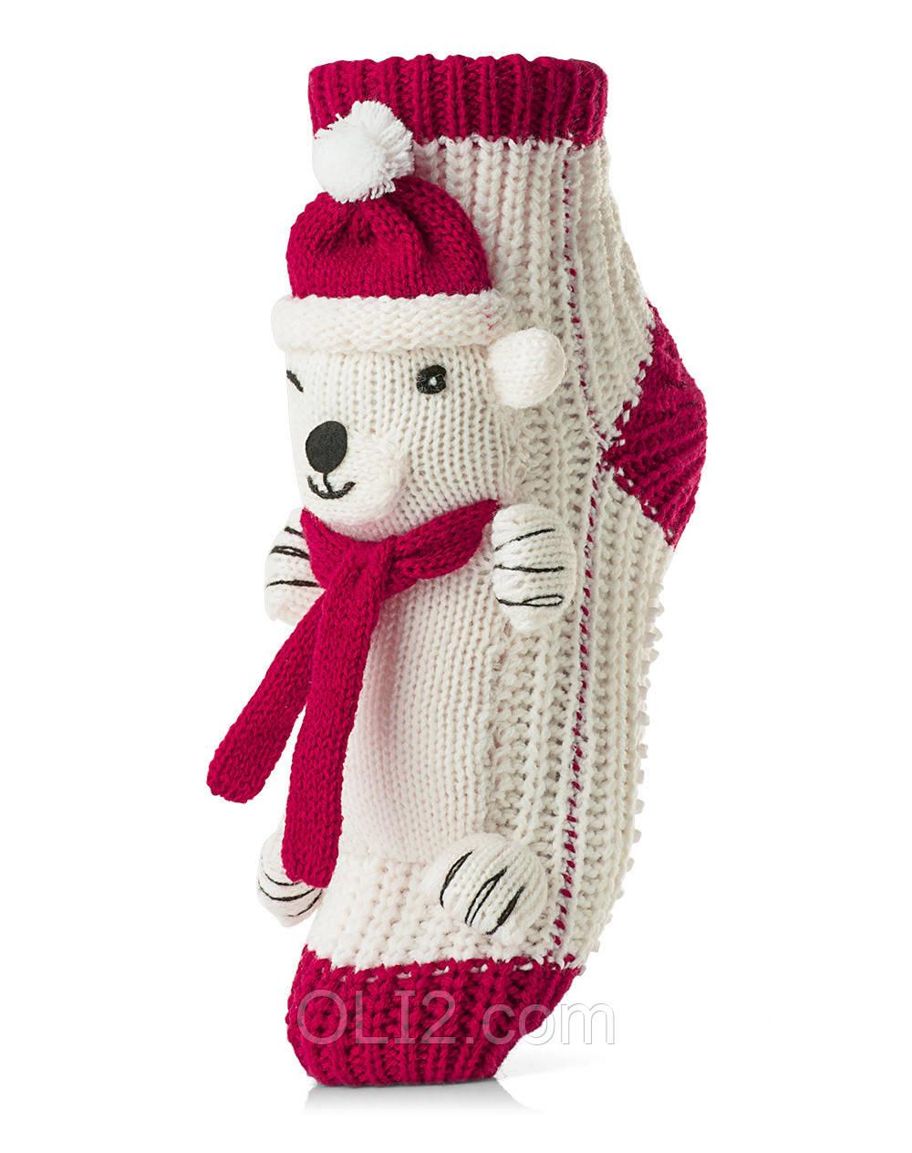 Женские детские носки ATTRACTIVE  3 D игрушка мишка 4