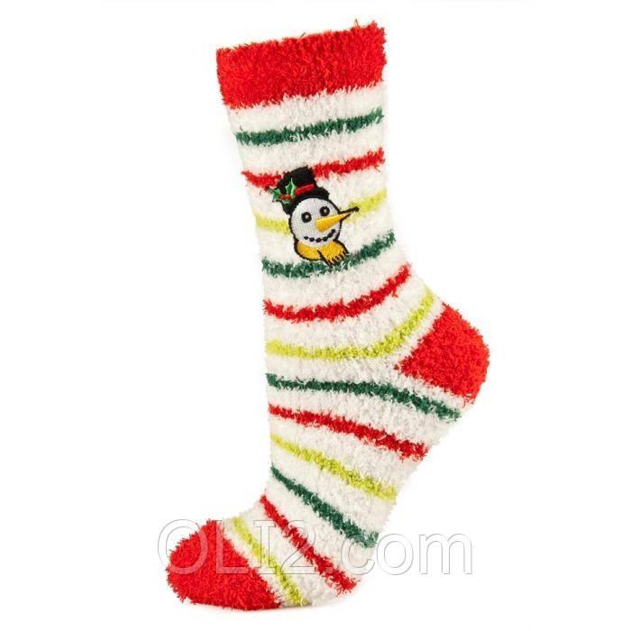 Женские махровые новогодние носки SOXO