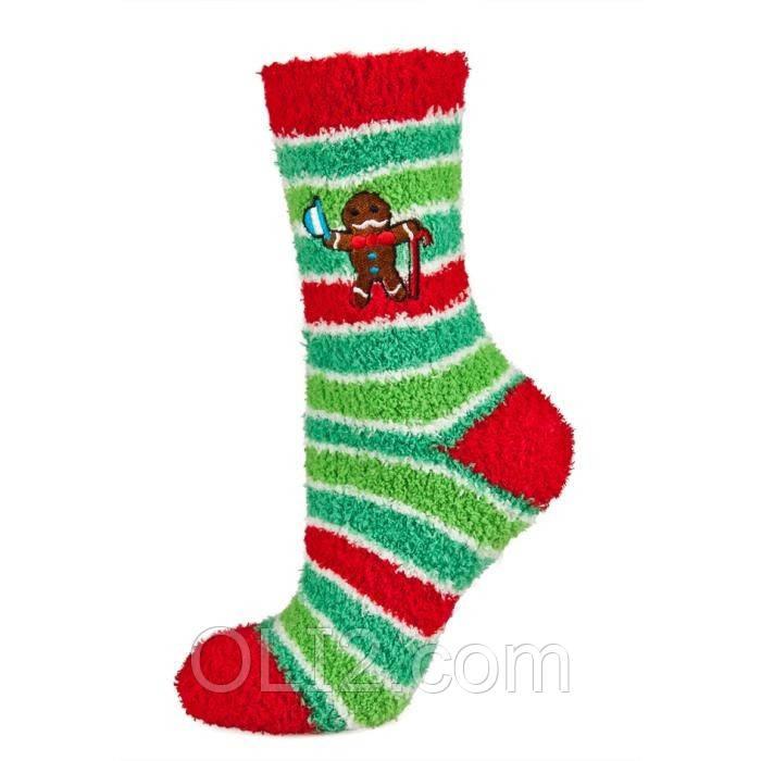 Женские теплые махровые новогодние носки SOXO