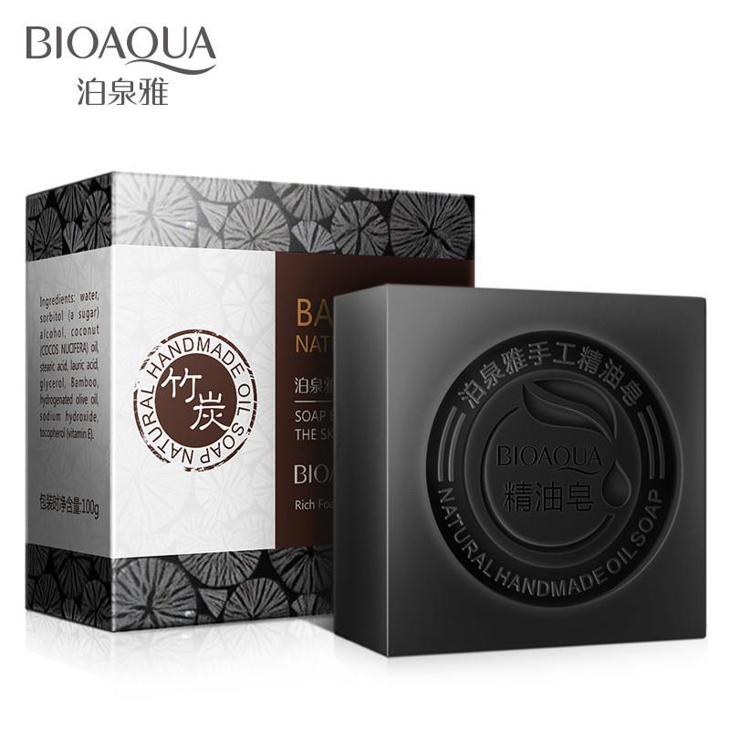 Натуральное мыло с экстрактом бамбука и кокосовым маслом BIOAQUA Bamboo Natural Oil Soap