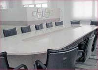 Переговорные столы из искусственного камня