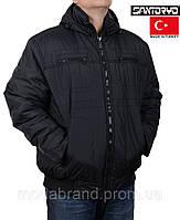 Куртка мужская на синтепоне Santoryo-7228 черная