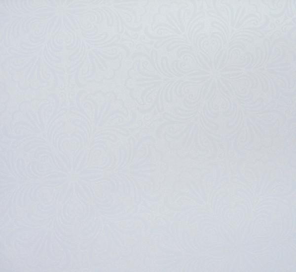 Рулонные шторы Emir. Тканевые ролеты Эмир Белый, 115 см