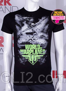 Мужские футболки WORLD of WARPLANES самолеты