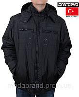 Куртка мужская теплая Santoryo-1755 черная