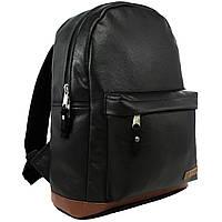 Рюкзак Tiger  City Light PU черный портфель
