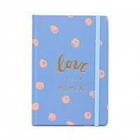 Блокнот Love every moment Blue