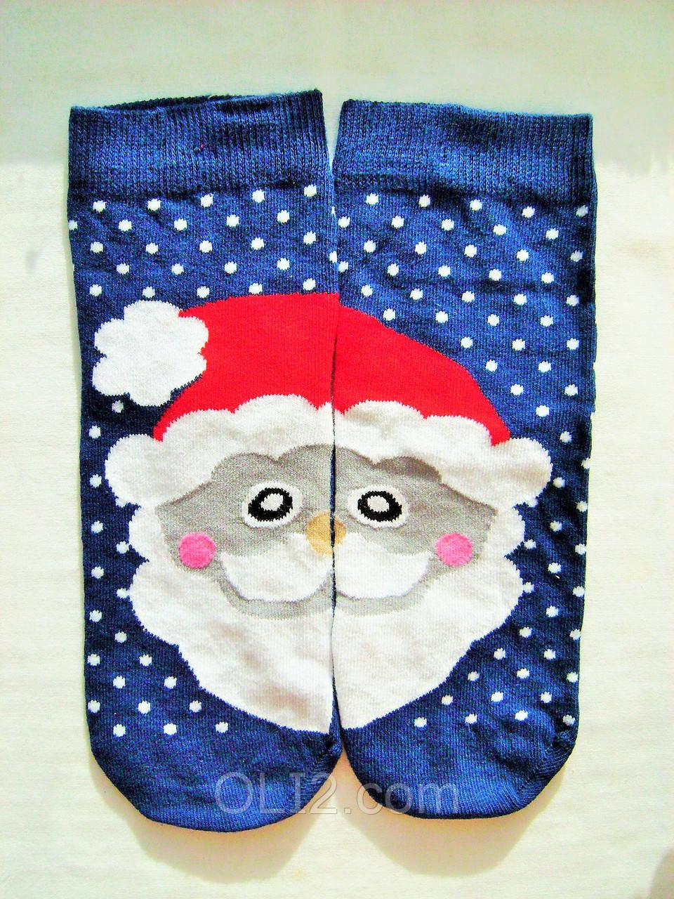 Женские яркие носки новогодние на подарок Ekmen