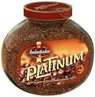 Кофе растворимый Ambassador Platinum, 100 гр