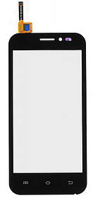 Тачскрин (сенсор) Nomi i451 Twist ORIG, black (черный)